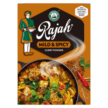 Rajah Mild & Spicy Curry Powder 100gr