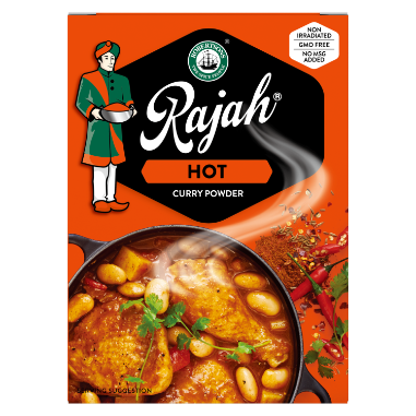 Rajah Hot Curry Powder 100gr